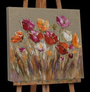 Jolies fleurs colorées