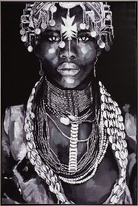Beauté africaine bijoux