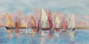Regatta in bunt