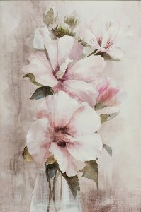 Delicate pink blossoms I