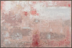 Abstract reddish pastel colours