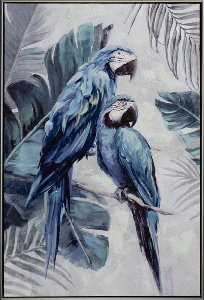 Perroquets bleus