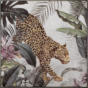 Leopard in the jungle I