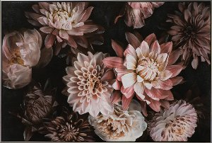 Hübsche rosa Blumen I o.ä.