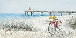 bicycle on the beach II