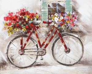 flower power bicycle