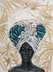 woman with turban