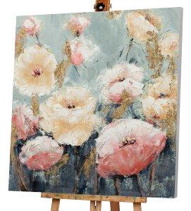 Blüten in rosa und beige