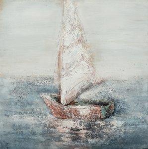 Einsames Segelschiff