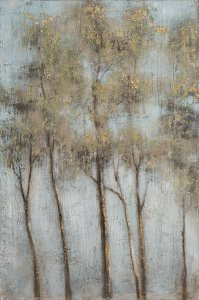 Trees at dawn II
