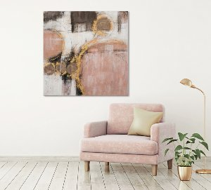 Abstract with pink