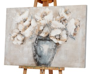 Hübscher Strauß mit weißen Blüten