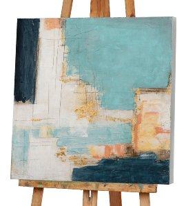 Abstrakt in Blautönen