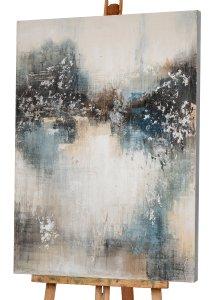 Abstrakte Gedanken in blau II