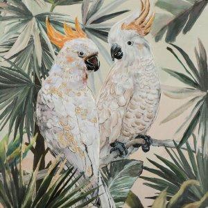 Verliebte Kakadus