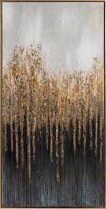 Forêt mystérieuse abstraite I