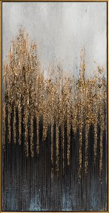 Forêt mystérieuse abstraite II