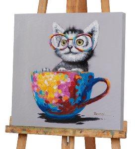 Katze in der Tasse