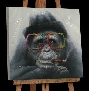 smoking gorilla