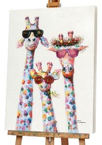 giraffes morning
