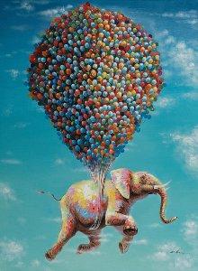 Fliegender Elefant