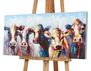 Erstaunte Kühe