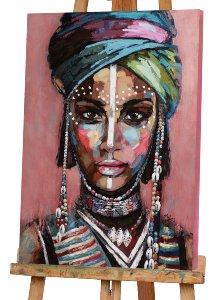 Wüstenfrau mit Turban