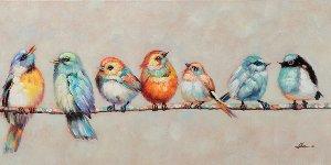 Birdies on a branch