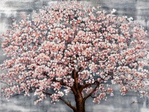 Blooming tree with highgloss I