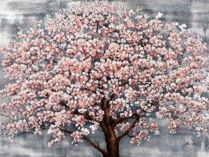 Blühender Baum mit Hochglanz I