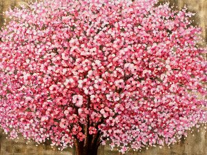 Blooming tree with highgloss II