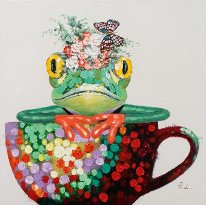Frog in a cup
