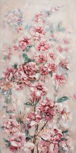 Gently pink flowers