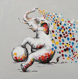 Playing little elephant