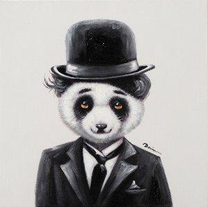 Silent movie Panda Bear