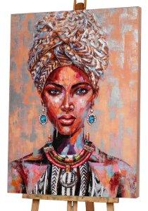 Afrikanische Schönheit mit Turban
