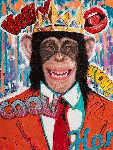 Cool Pop Art Monkey