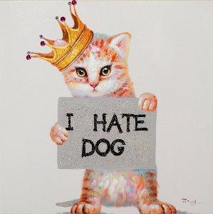 Kitten hate dogs