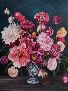 Bouquet rose III