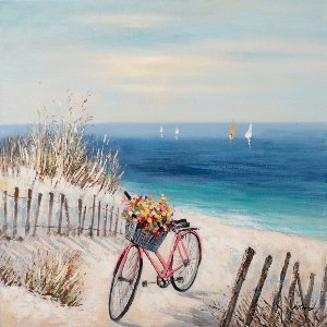 Bicycle on the beach III