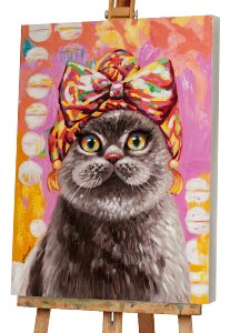Cat with turban