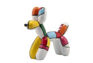 Dog made of balloons