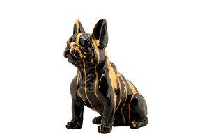 Sitzende Bulldogge I