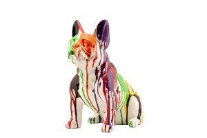 Sitzende Bulldogge II