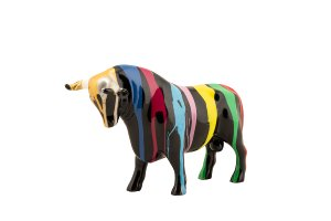 Colorful bull