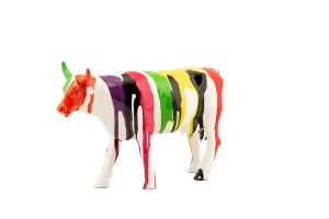 Colorful cow I