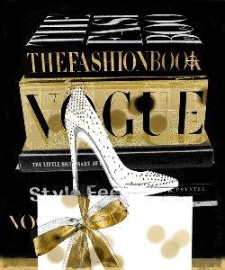 Fashion books with high heel I
