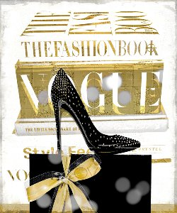 Fashion books with high heel II