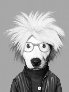 Andy Warhol dog
