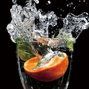 Splash Orange